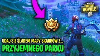 GO to the TRACE of the TREASURE MAP with PLEASANT PARK Fortnite Battle Royale