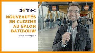 Tendances et nouveautés cuisine du salon Batibouw 2017