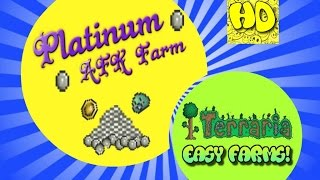 Terraria Easy AFK Platinum Farm | 1.3 events and farms