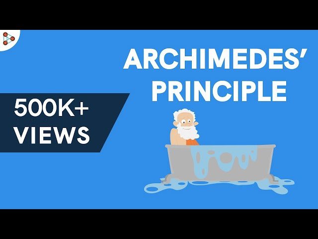 Physics - What is the Archimedes' Principle?
