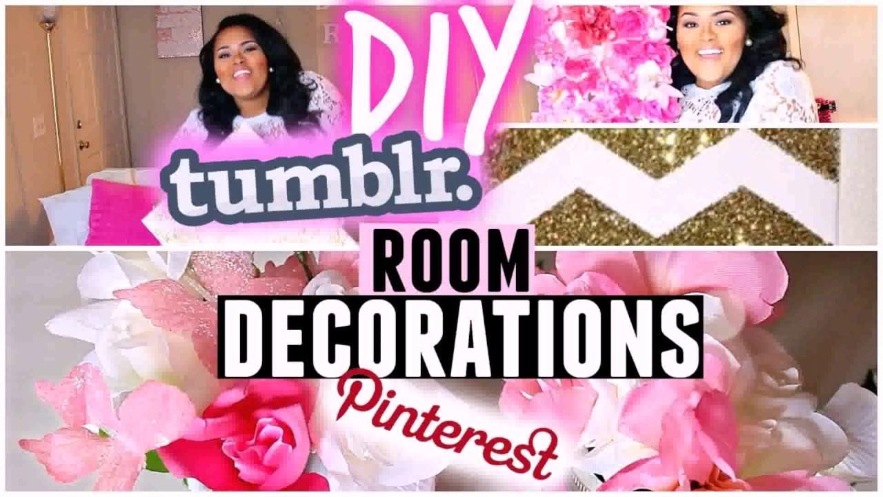 diy girl bedroom decor pinterest - youtube