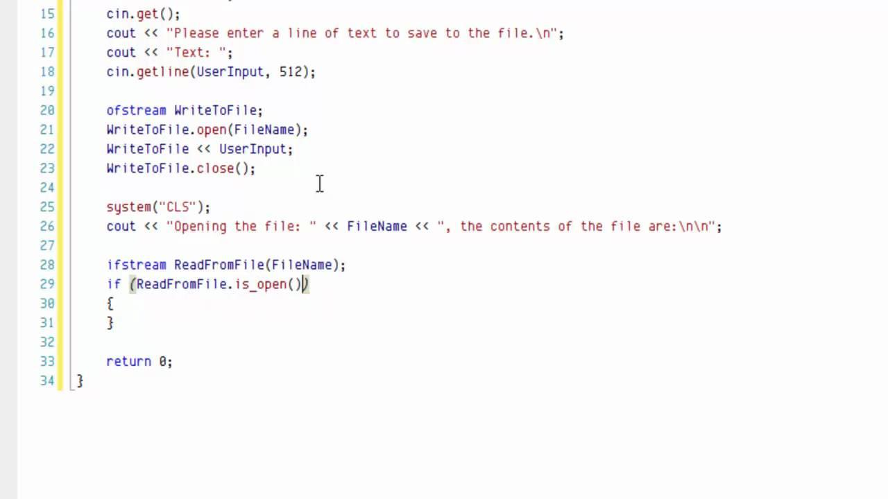 How to write output 10