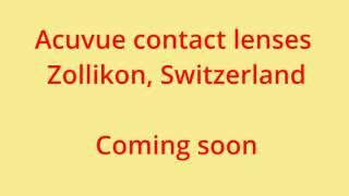 acuvue contact lenses Zollikon, Switzerland 47.346569, 8.602380