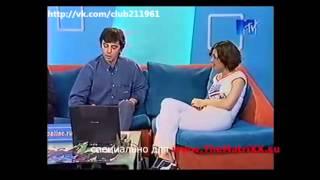 Сергей Бодров и Глеб Самойлов в передаче Дневной каприз   2001г
