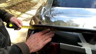 2006-10 Dodge Charger Spoiler Installation video 1
