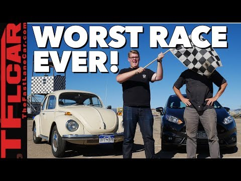 Gameshow (Classics Edition): Is a VW Super Beetle Faster Than a Ford Fiesta ST?