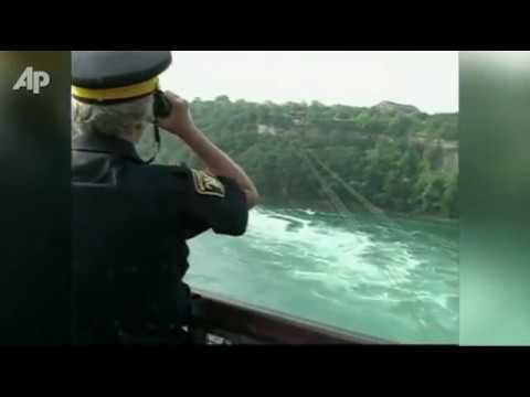 Woman Swept Over Niagara Falls In Canada
