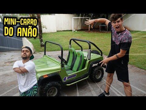 DEI UM MINI CARRO PARA O ANÃO!!  ( ELE CHOROU? )  [ REZENDE EVIL ]