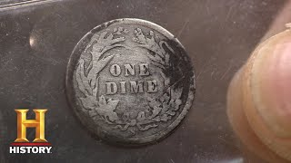 Pawn Stars: 1894 S Barber Dime | History