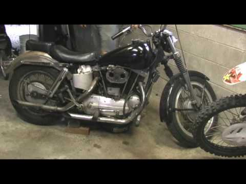 Harley Davidson Battery >> 1960 Ironhead Re-birth. Harley Davidson sportster - YouTube