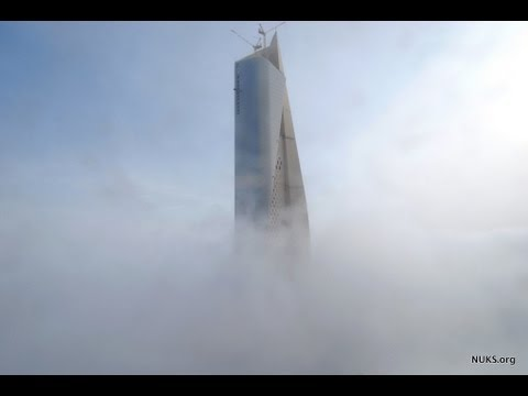 NUKS in Action 2011 - AlHamra Tower برج الحمرا