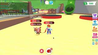 my first time recording adopt me roblox 😁😁