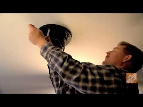 C mo instalar un ventilador de techo youtube - Ventilador techo ...