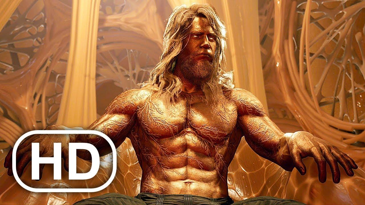 Download Marvel's Guardians Of The Galaxy Adam Warlock Meets Star Lord 4K ULTRA HD