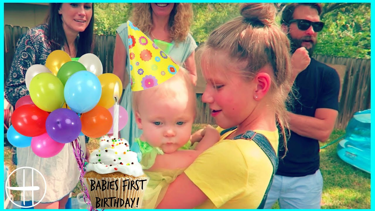 Babies FIRST BIRTHDAY PARTY Birthday ts games wubble bubble