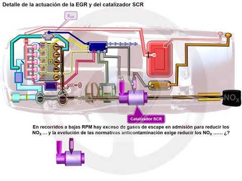 Catalizador de reducción selectiva (SCR) en el motor diésel (4/5)