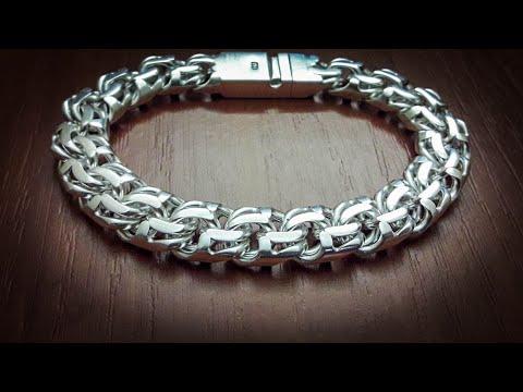"Браслет. Плетение ""БИСМАРК"". How To Make Chain ""BISMARK"""