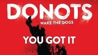 Donots - You Got It (Official Audio)