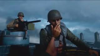 CALL OF DUTY WW2 Walkthrough Gameplay Part 1 - Normandy - Campaign Mission 1 at 5760*1080 resolution