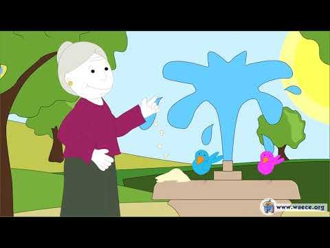 La abuela, cuento infantil para educar la GRATITUD