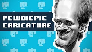 How to Draw PEWDIEPIE!!!
