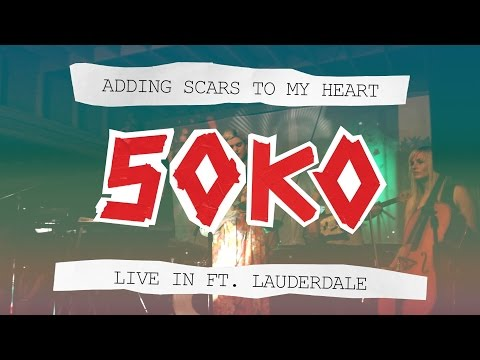 Adding Scars to My Heart - Soko Live In Ft. Lauderdale 2014