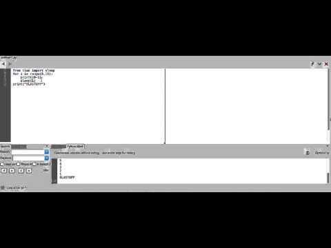 how to set timers in python