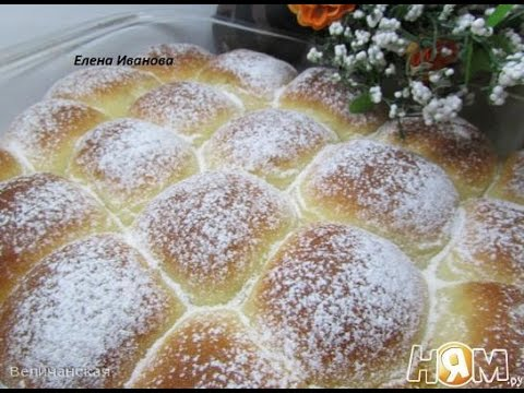 Пончики с заварным кремом - кулинарный рецепт