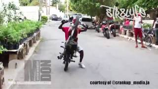 Sizzla Kalonji CRAZY STUNTS on the Freeway Jamaica BIKE