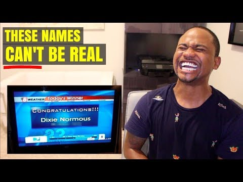 TOP 70 Funniest Names IN THE WORLD!! | Alonzo Lerone
