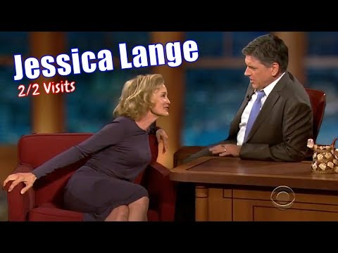 Jessica Lange  Beautiful & Fun  22 Visits In Chronological Order