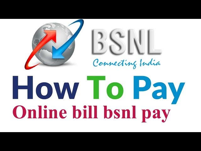 How to pay bsnl Landline and Broadband bill pay online