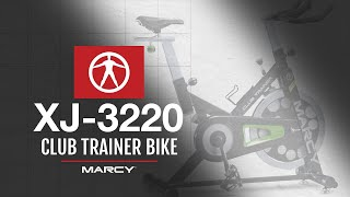 The Marcy Club Trainer XJ-3220 Excercise Bike