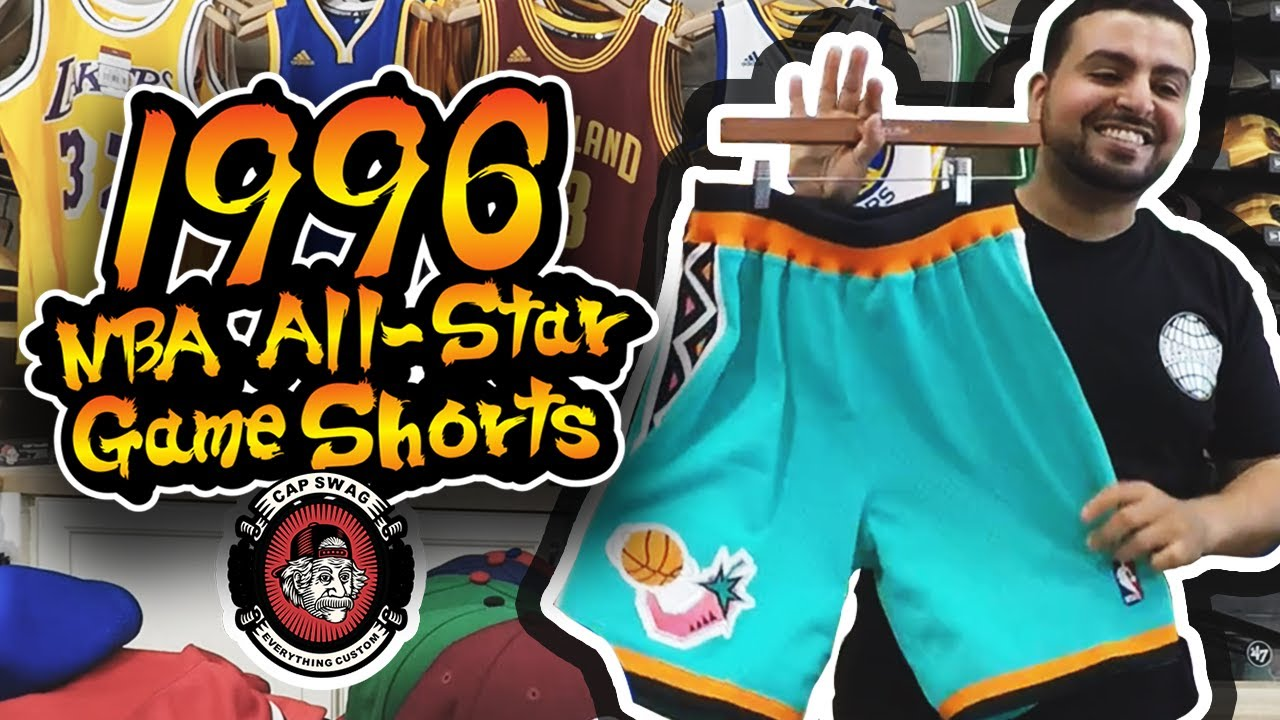 0c978ddb6 Authentic Mitchell   Ness 1996 NBA All-Star Game Shorts - YouTube