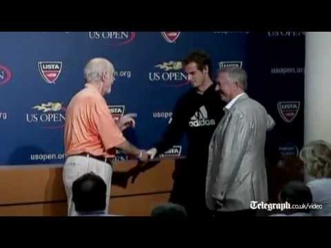 US Open 2012: Andy Murray battles through 'tough conditions'