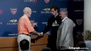 US Open 2012: Andy Murray battles through 'tough conditions'