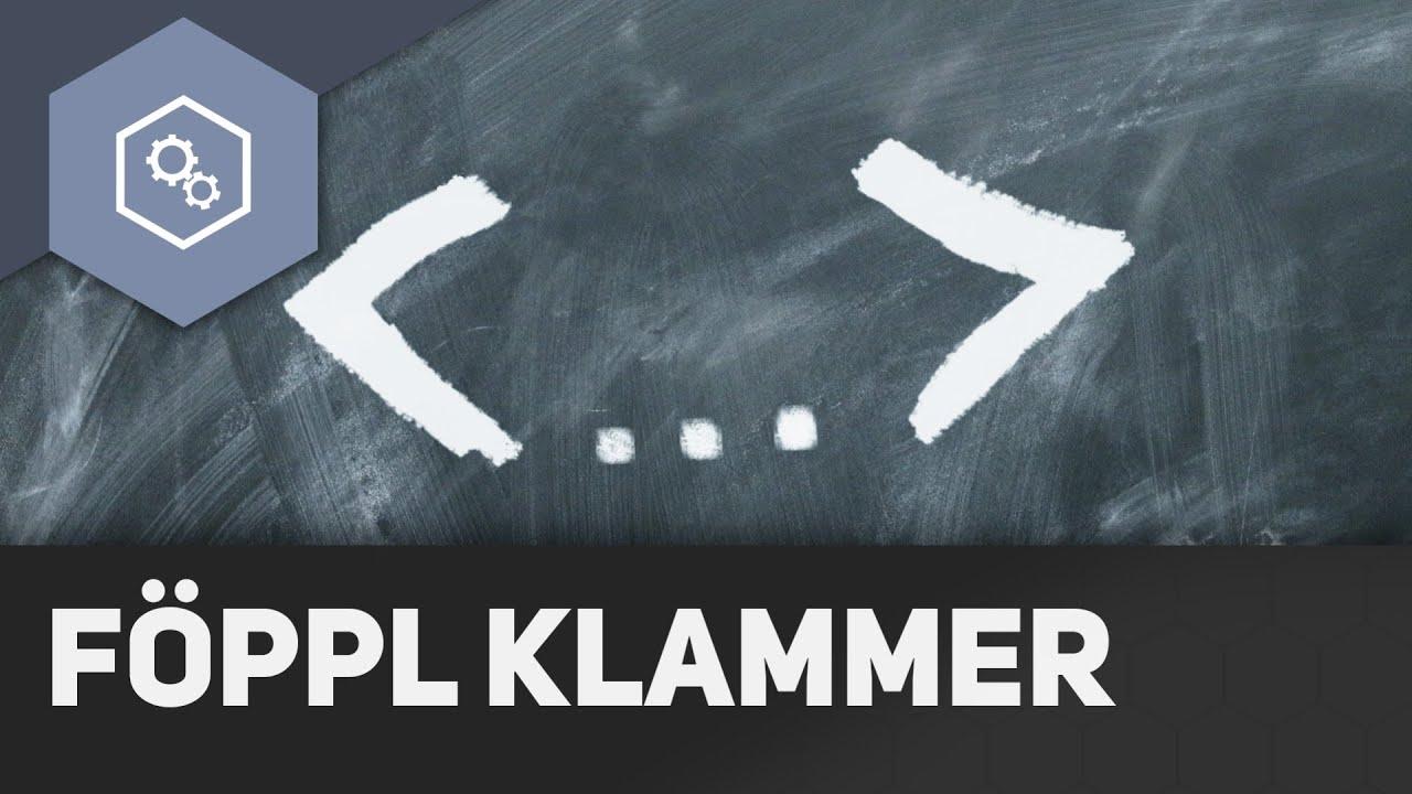 Föppl Klammer - Fachwerke und statisches Gleichgewicht 21 - YouTube