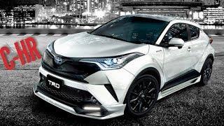 Долгожданная НОВИНКА от Тойота. NEW Toyota C-HR. Экспресс обзор CHR (не тест-драйв) 2018-2019.