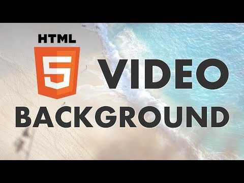 How To Add A Video Background With HTML & CSS
