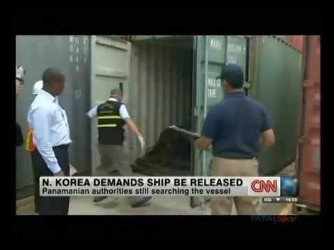 N Korea demands Panama free ship carrying arms