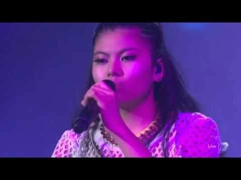 Marlisa performing her new single Forever Young at X Factor stage!