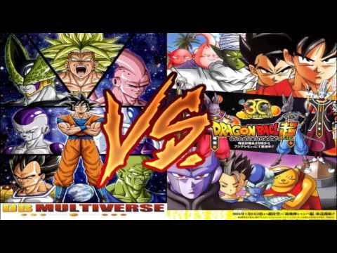 Dragon Ball Multiverse: Canon vs. Fan Fiction