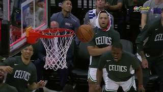 Marcus Smart's Attempt At Game Winner Falls Off Rim, Buddy Hield Kicks Ball In Celebration