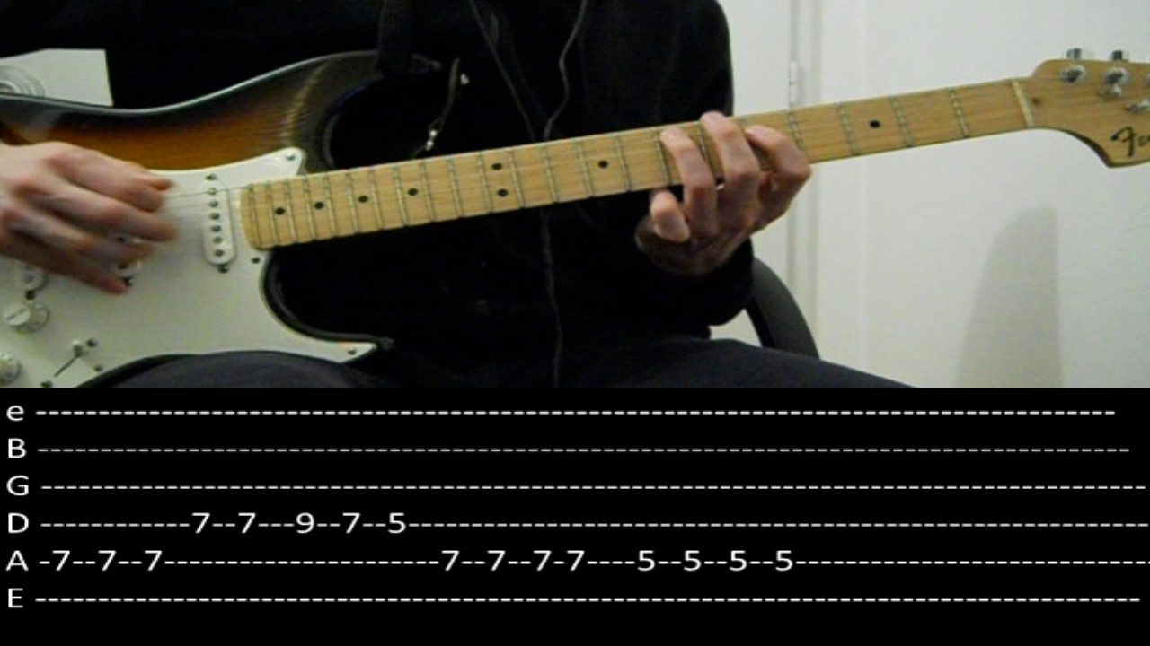 Rhcp Otherside Lesson W Tabs Youtube