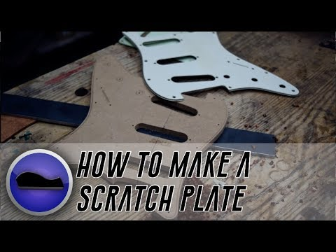 How to make a Scratchplate with hand tools