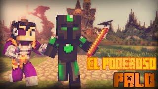 El Poderoso Palo!! - Escapa De La Bestia c/ Vegetta - Minecraft