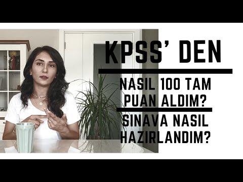 KPSSde Nasıl 100 Tam Puan ile Türkiye Birincisi Oldum?