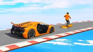 ATTEMPTING THE HARDEST SKILL TEST EVER IN GTA 5!