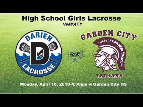 Darien Varsity Girls Lacrosse vs. Garden City, NY