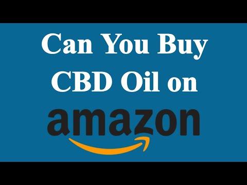 Can You Buy CBD Oil On Amazon?